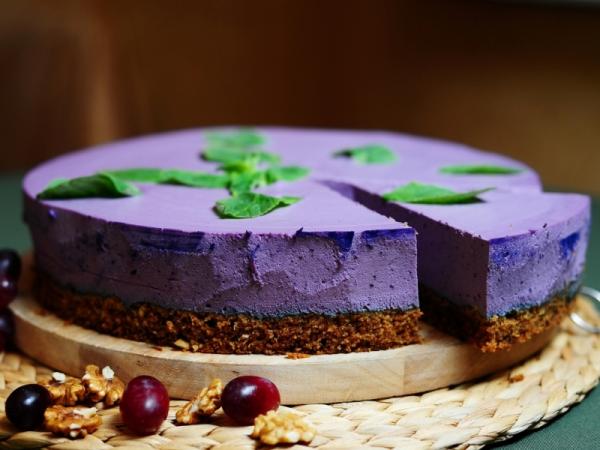 Торт с суфле рецепт с черникой